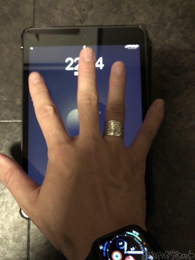 iPad miniと手