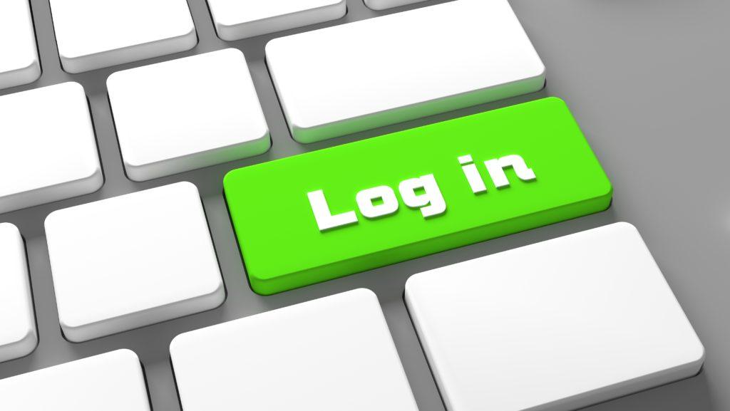 log-in-keyboard-button-internet-online-sign-in-con-ASJUGDE